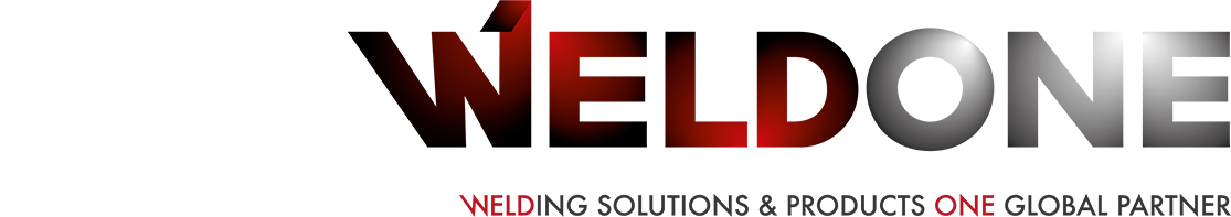 Weldone – WELDing solution & products ONE global partner Logo